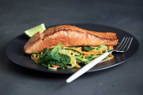 Fish is a good source of Omega 3.