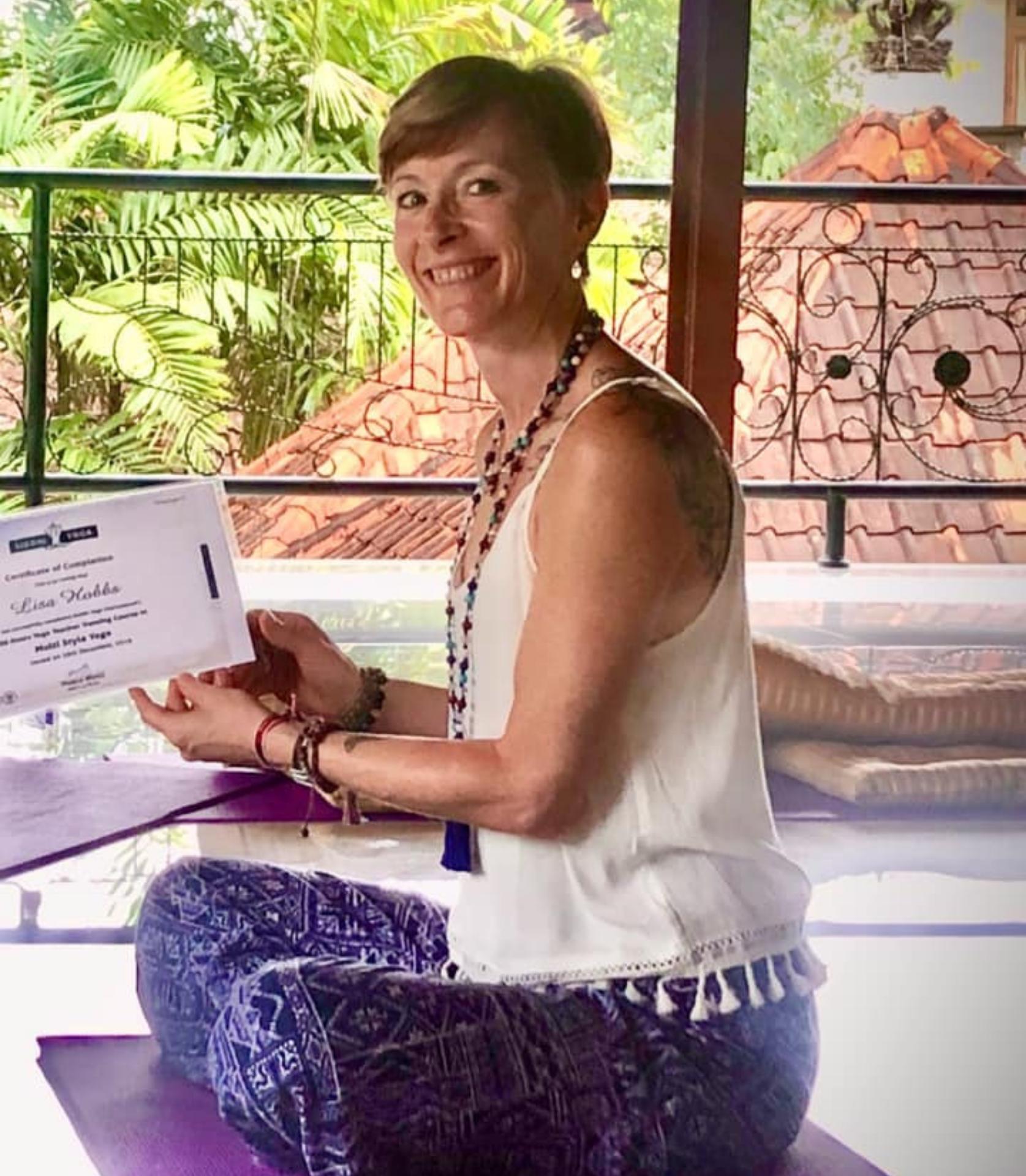 Yoga teacher in Adelaide