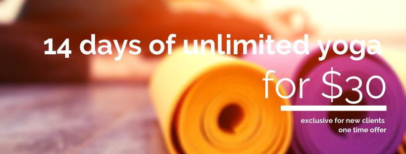 Unlimited yoga classes in O'Halloran Hill