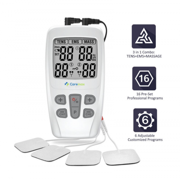 CareOne TENS & EMS & Massage 3 in 1 Combo Machine