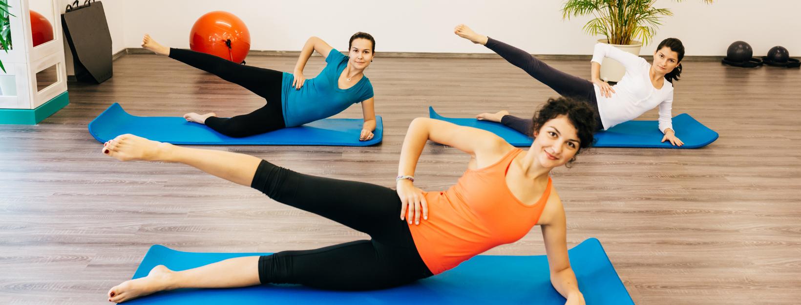 Yogalates class